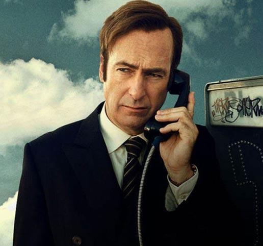 "Immagine dello spin off di Breaking Bad ""Better call saul"""
