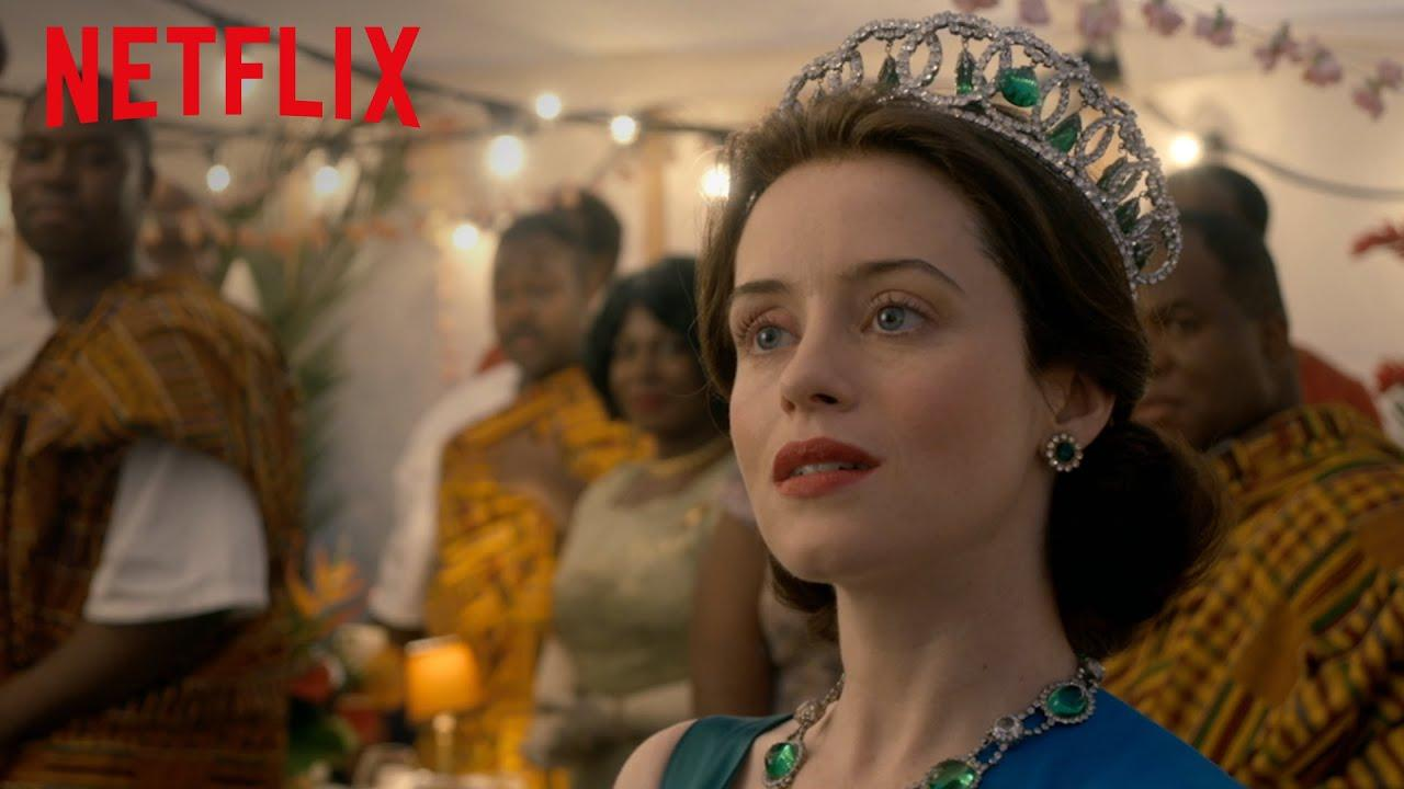Immagine della serie The crown in streaming su Netflix