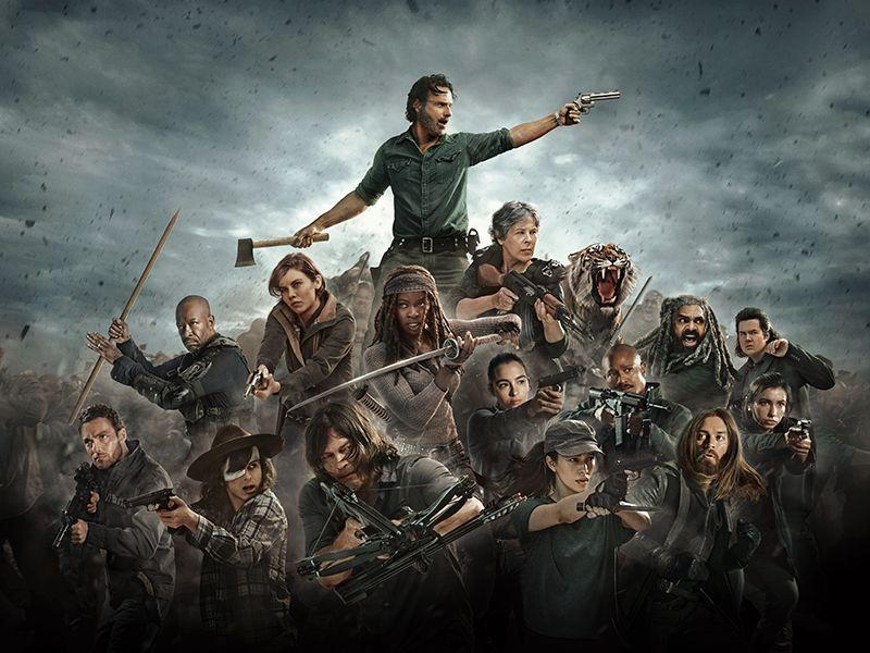 personaggi principali della serie tv The Walking Dead