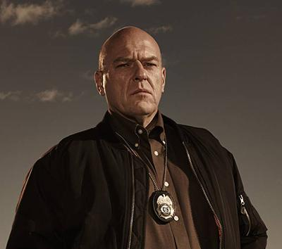 Primo piano di Hank Schrader di Breaking Bad