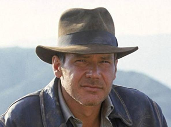 Harrison Ford in Indiana Jones e il tempio maledetto
