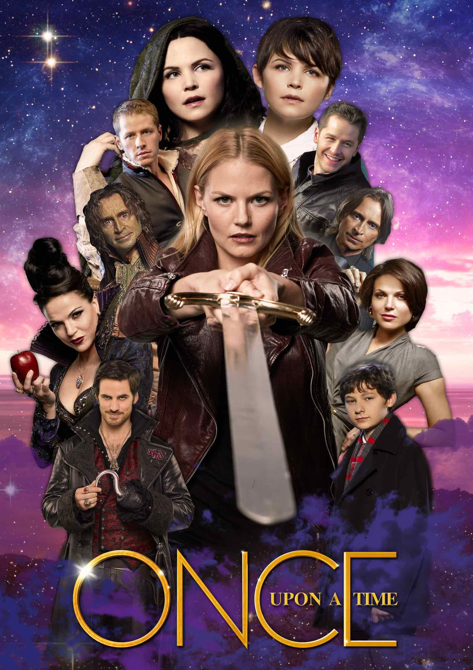 Attori principali del cast di Once Upon a Time