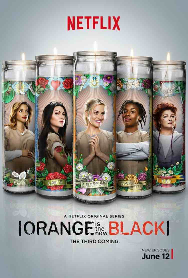 Copertina di Netflix della serie tv Orange is the New Black