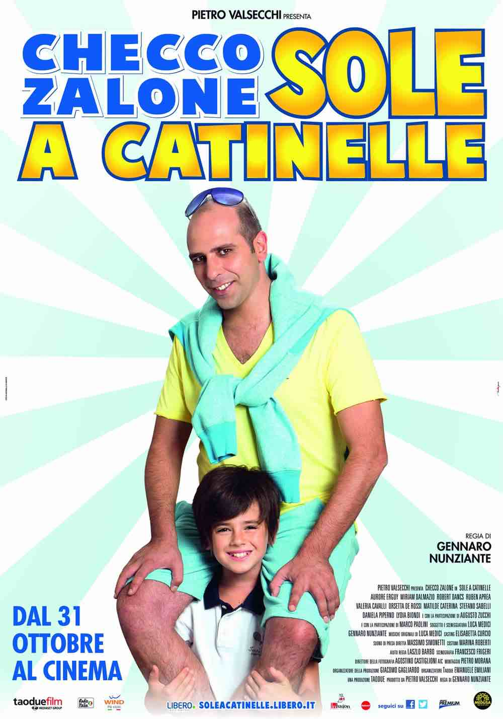 Sole a catinelle in streaming
