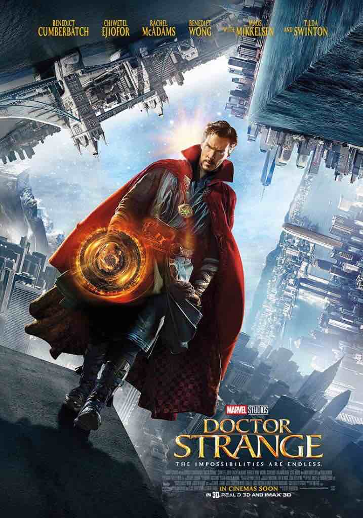Copertina cinematografica del film Doctor Strange